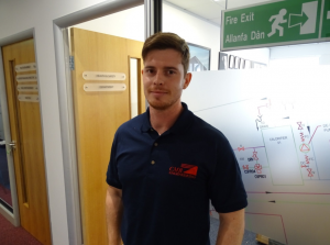 Alex James our new Health & Safety Advisor